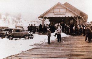 North Creek Train Station