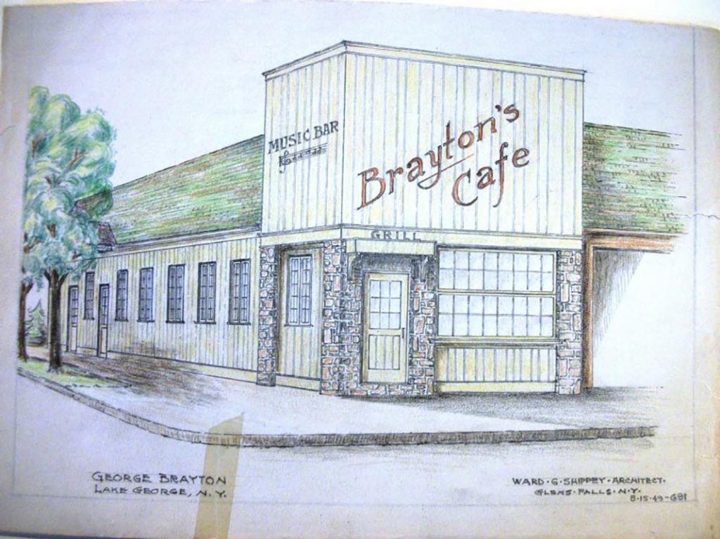 Rendering of Brayton's Cafe