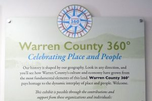 Warren County 360 Museum Exhibit Sign