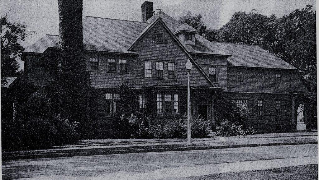 Sisters of St. Joseph house in Glens Falls NY in 1941