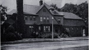 Sisters of St. Joseph house in Glens Falls NY in 1941